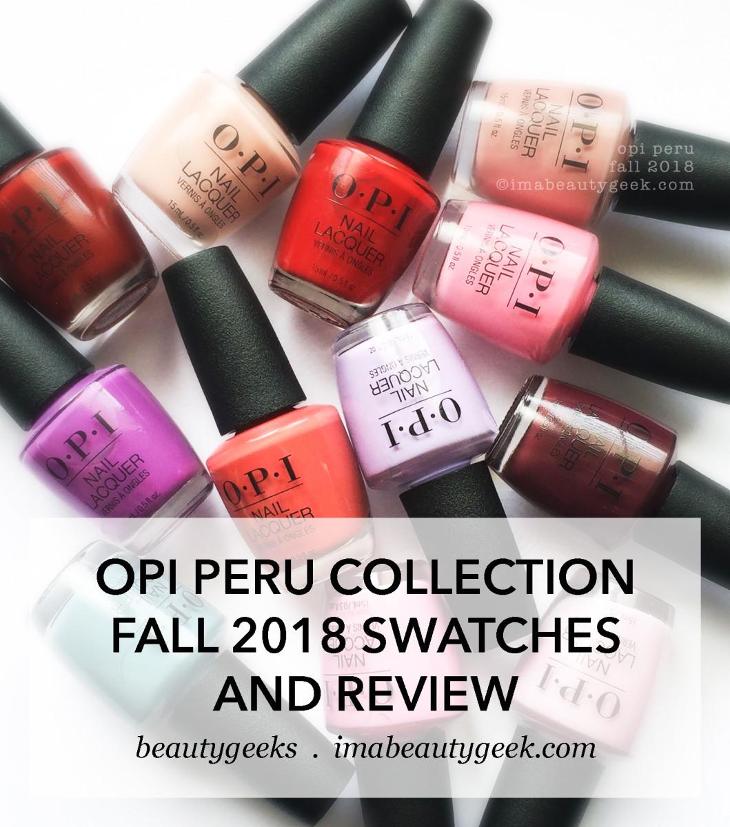 Nail Polish Colors Spring 2018 Opi: Hot Summer Nail Colors 2018 Opi