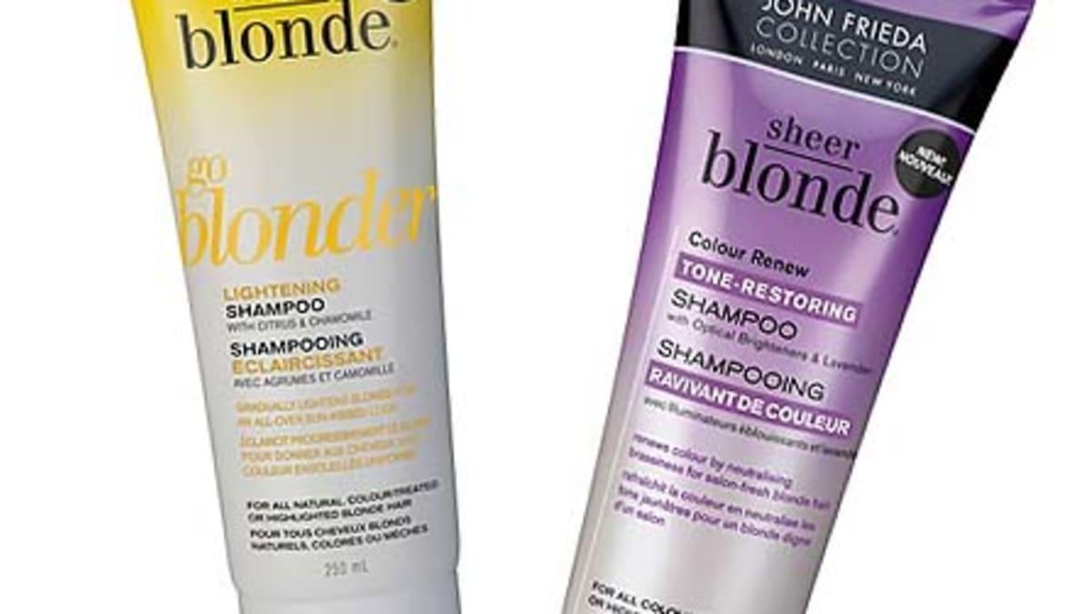 F Is For Frieda And 50 Off John Frieda Sheer Blonde Go Blonder Colour Renew Beautygeeks