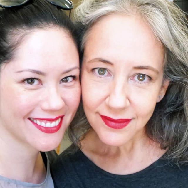 Liza and Janine