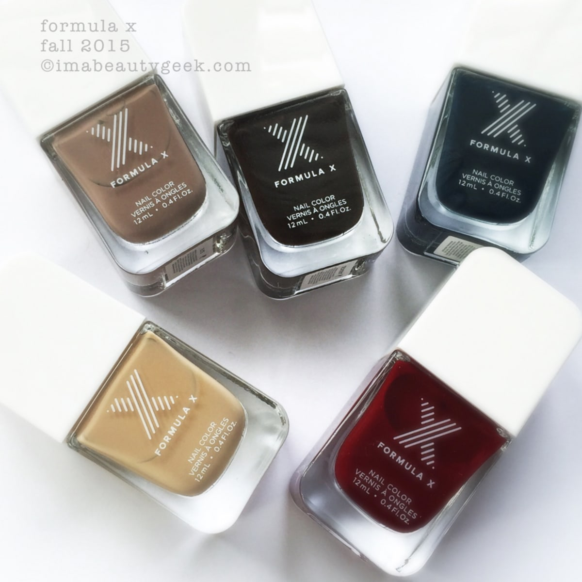 Formula X Fall 2015 Swatches And Review Beautygeeks