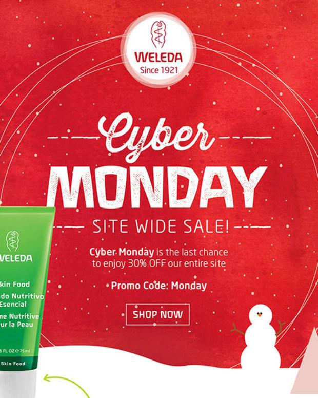 Cyber Monday_Weleda