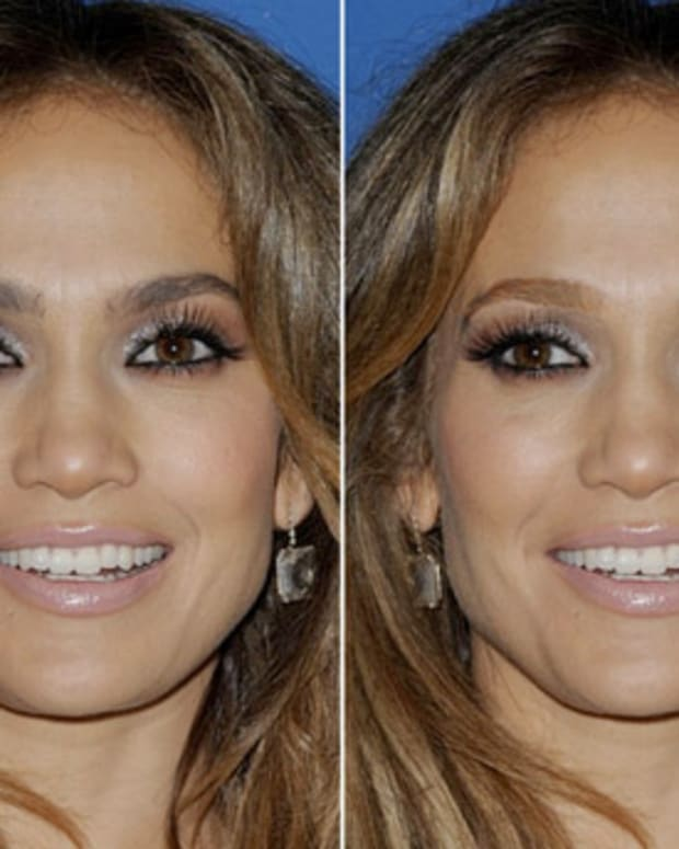 jennifer lopez brow makeover_from too dark to matching highlights sort of