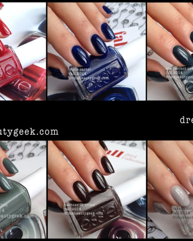 Essie Fall 2014 Dress to Kilt Composite Beautygeeks