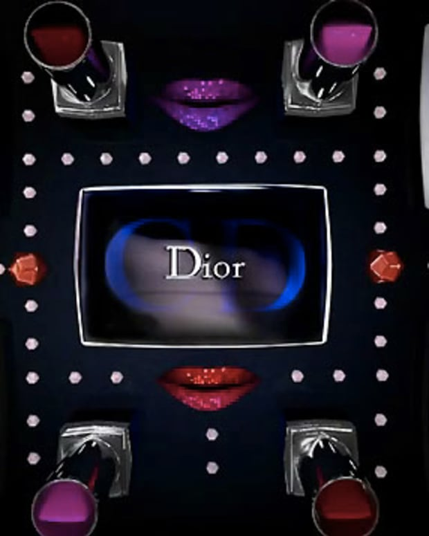 Dior Holiday video screen grab