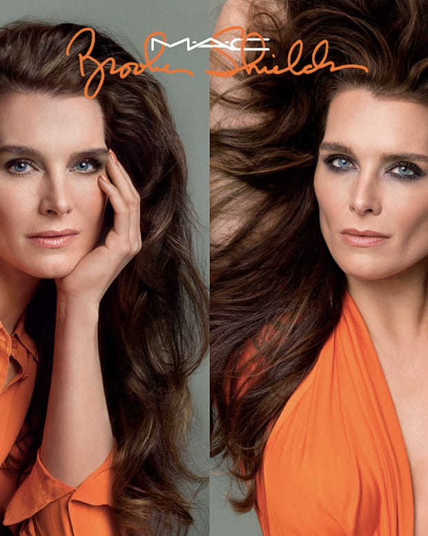 Brooke Shields_MAC Cosmetics collection