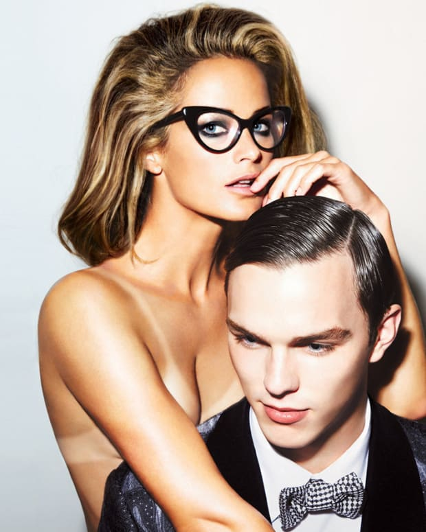 Carolyn-Murphy_Nicholas-Hoult_Tom-Ford-2010 eyewear