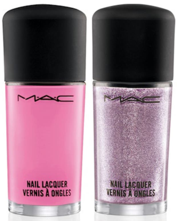 MAC Fantasy of Flowers nail lacquers