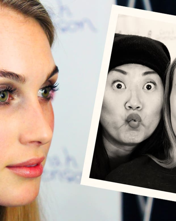 soft spring smoky eyes_goofy Dauphine and Grace Lee_Maybelline_Sarah Stevenson for Target