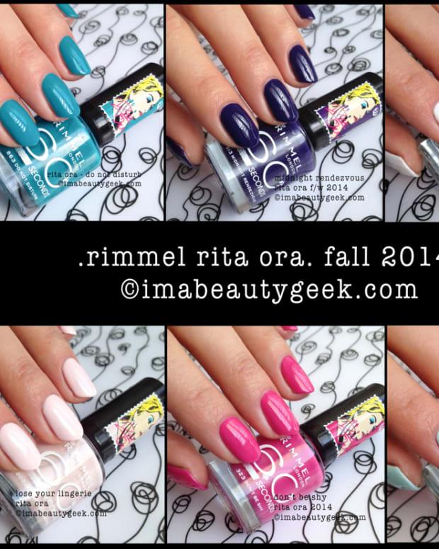 Rimmel Rita Ora Fall 2014 Composite Beautygeeks