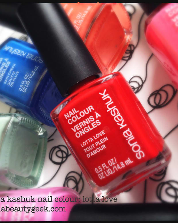Sonia Kashuk Lotta Love nail polish