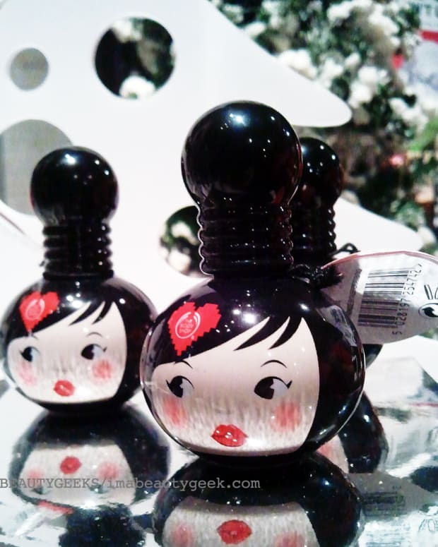 Body Shop Lip & Cheek Doll_holiday 2014
