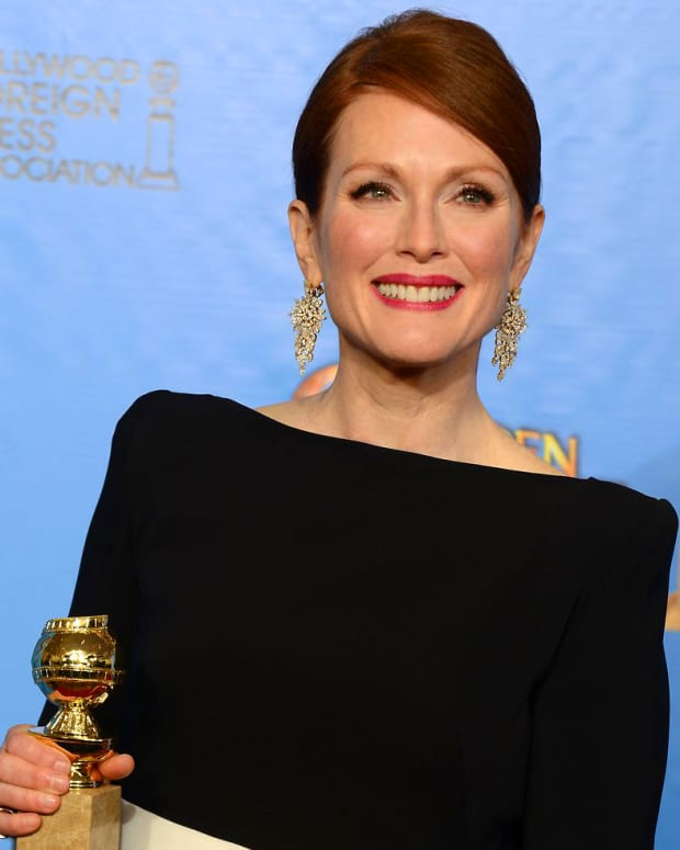 Julianne Moore_Golden Globes winner_2013