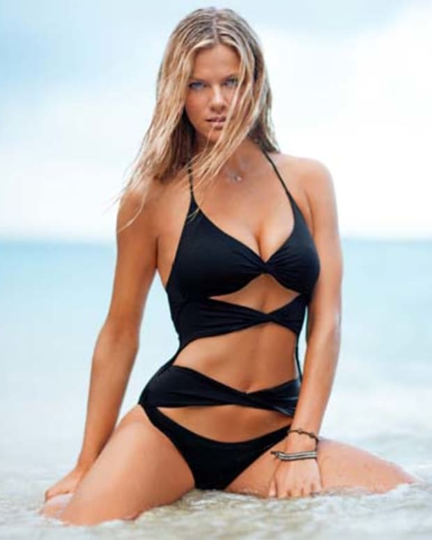 Cut-out Twist One Piece $68 USd victoriassecret.com