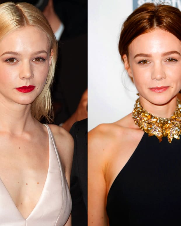 Baby ombre how to diy ballyage or balayage highlights at home carey mulligan blonde to brunette how to diy solutioingenieria Choice Image