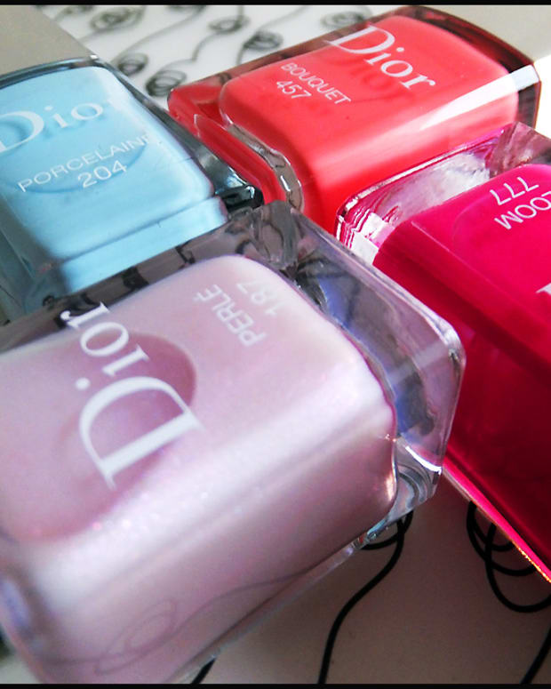 Dior Spring 2014 nails_Dior Vernis Trianon Edition