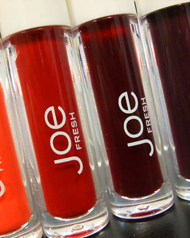 Joe Fresh Lip Tint March 2012