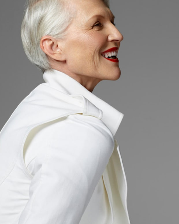 Maye Musk in FASHION Mag May 2011