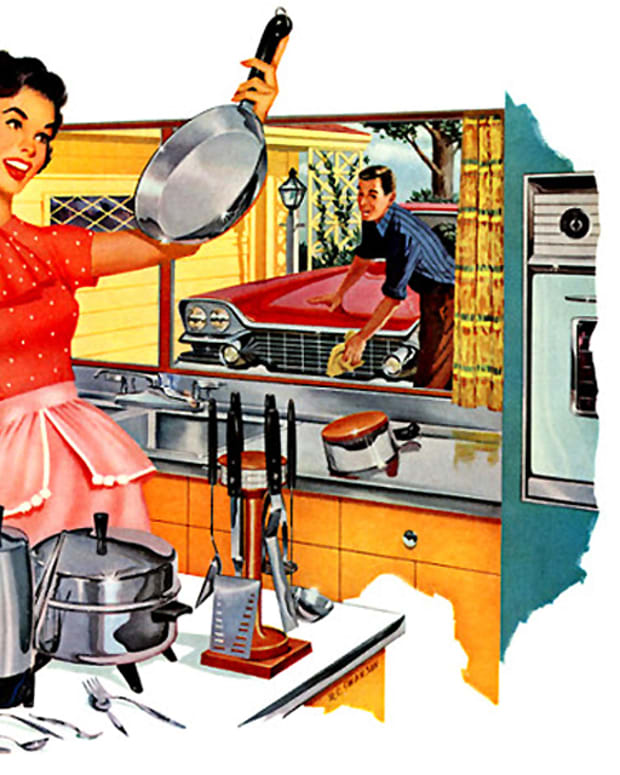 vintage stainless steel ad