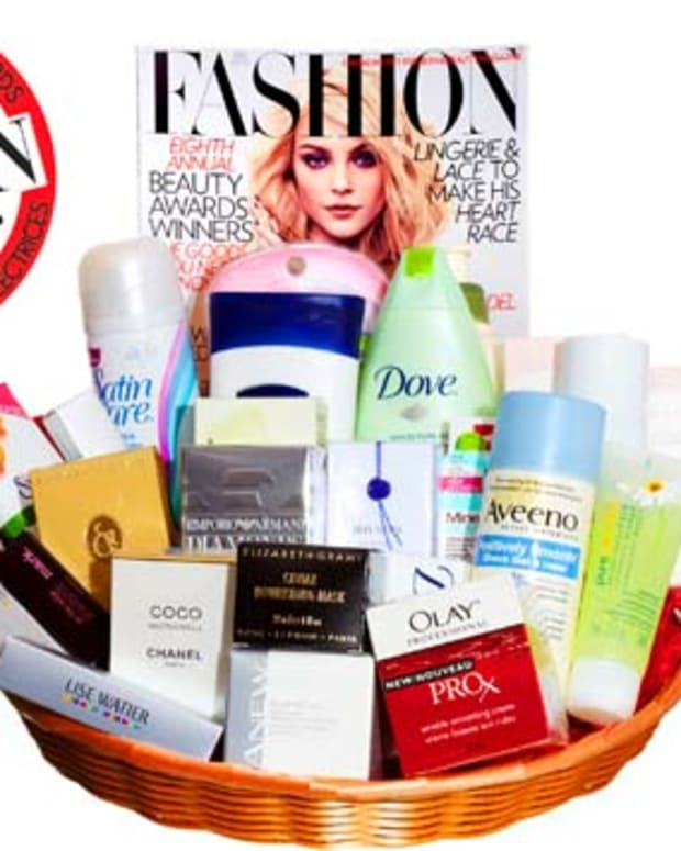 FASHION Magazine's 8th Annual Reader's Choice Beauty Award Winners basket
