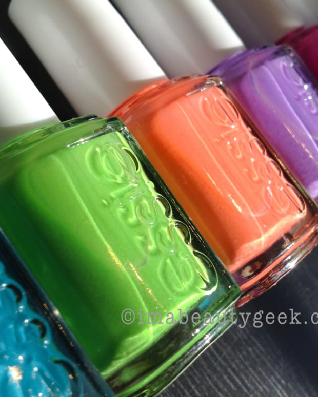 Essie Neon Too Taboo 2014