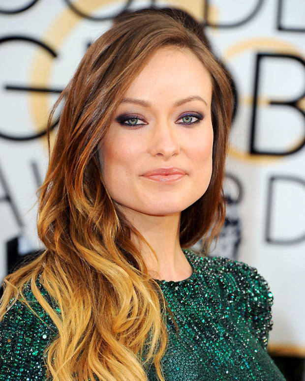 olivia wilde ombre_diy ombre coloured hair