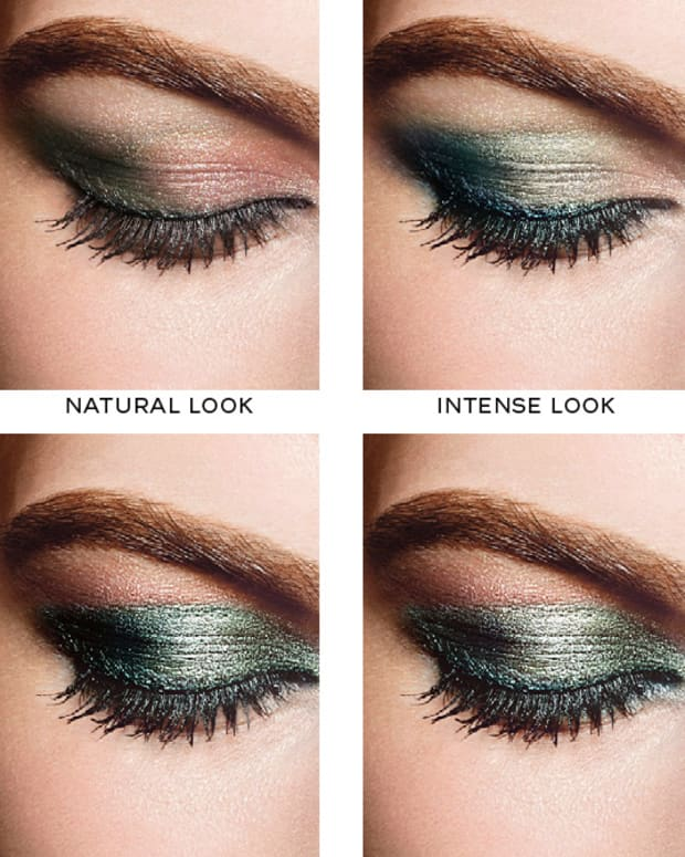 CHANEL Eye Makeup Chart_4 Ways to Wear Chanel Les 4 Ombres