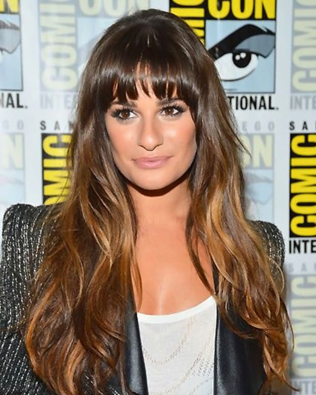 DIY Sombre_diy soft ombre at home_Lea Michele
