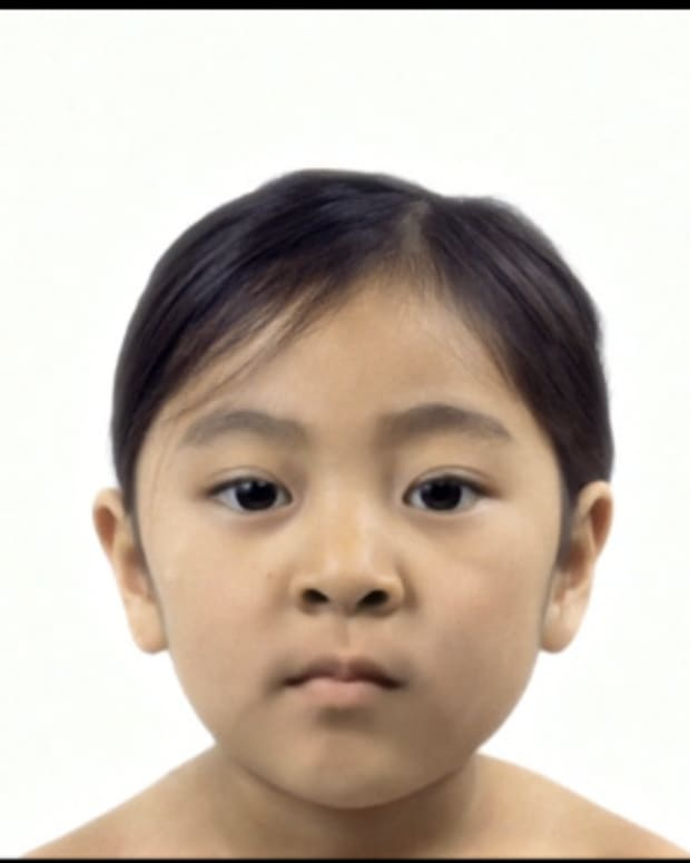 girl ages into an old woman