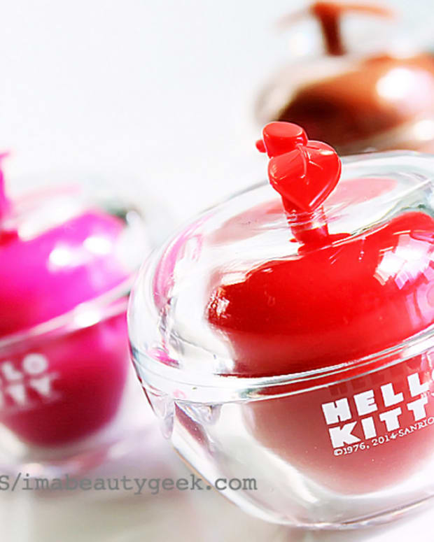 Hello Kitty Holiday 2014_40th Anniversary An Apple A Day Trio_tinted lip balm apples