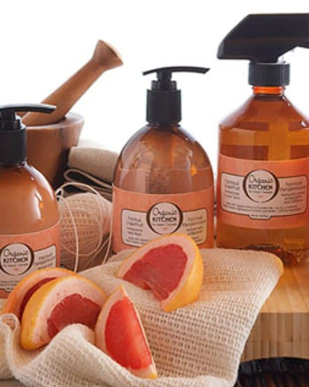Organic Kitchen by Upper Canada in Grapefruit Patchouli