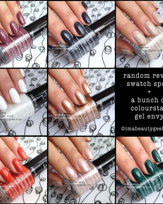 revlon gel envy swatches