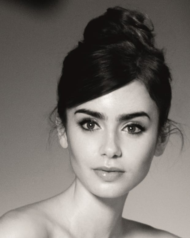 Lily Collins crop_photo by Barwered van der Plas for Lancome copyright 2013