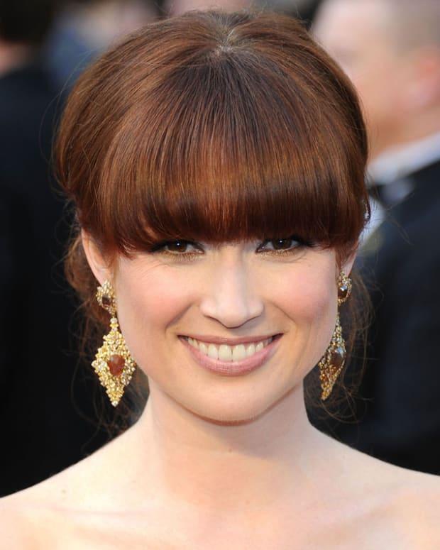 Ellie Kemper_Bridesmaids_Oscars 2012