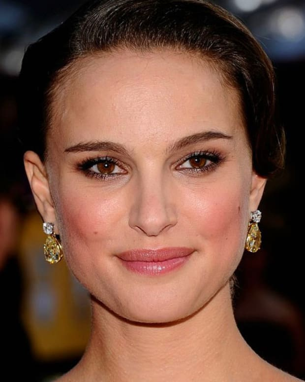 Natalie Portman SAG Awards 2011_makeup, Dior