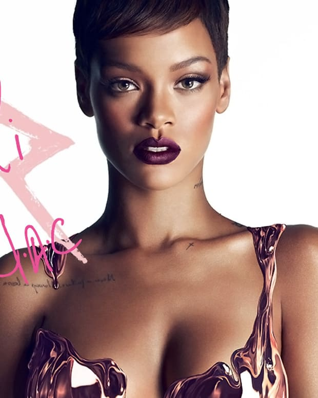 RiRi hearts MAC_Rihanna MAC_beauty shot