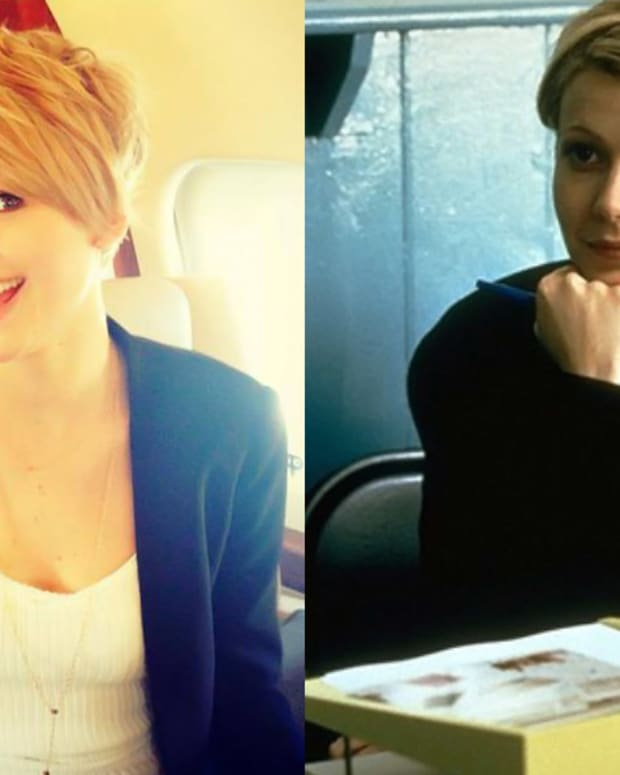 Jennifer Lawrence short hair_Gwyneth Paltrow short hair