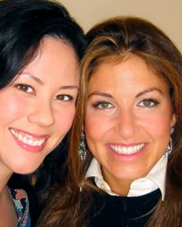 Janine with Dylan Lauren