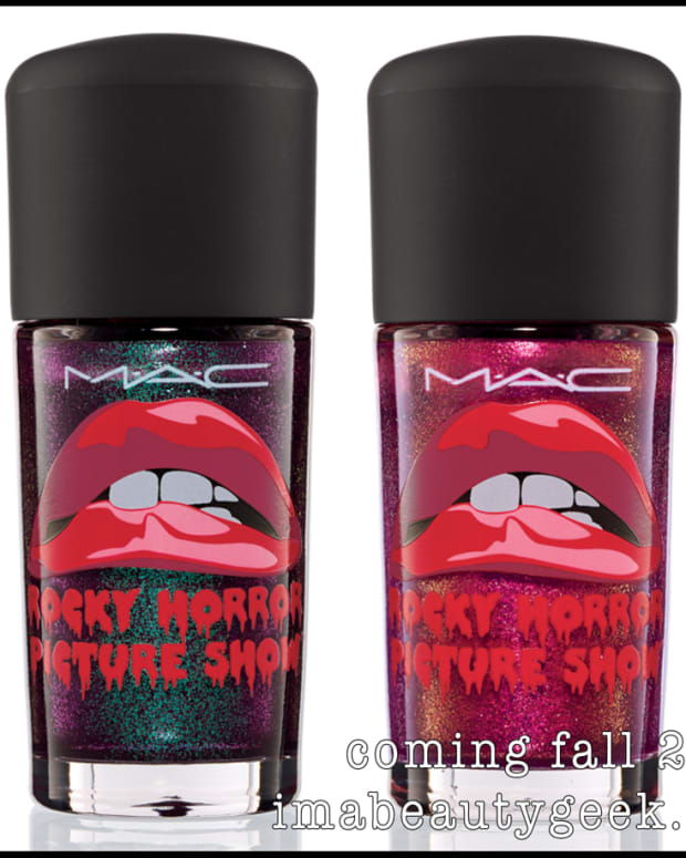 MAC Rocky Horror Polishes Fall 2014