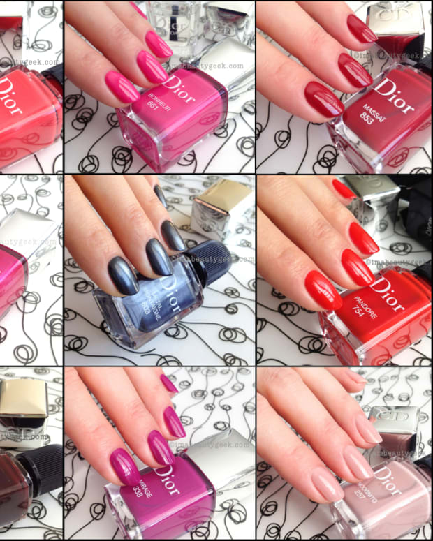 Dior Collage