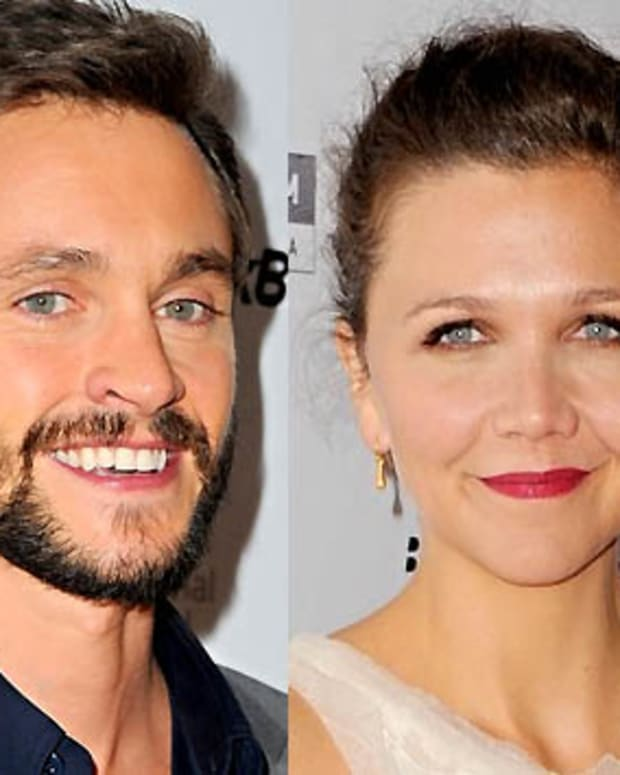 Hugh Dancy_Maggie Gyllenhaal_Hysteria red carpet_L'Oreal Paris TIFF 2011