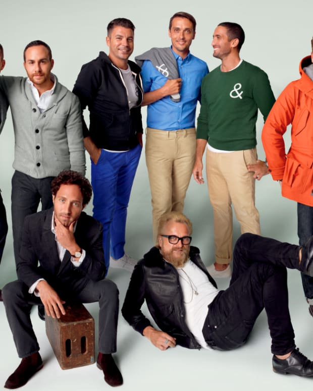 GQ's favourite menswear designers design limited line for The Gap