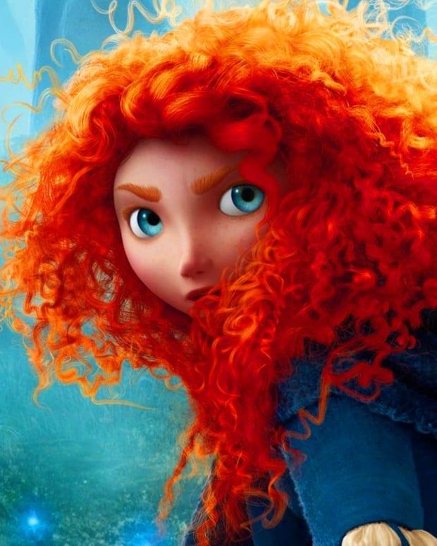 Brave_Merida's hair