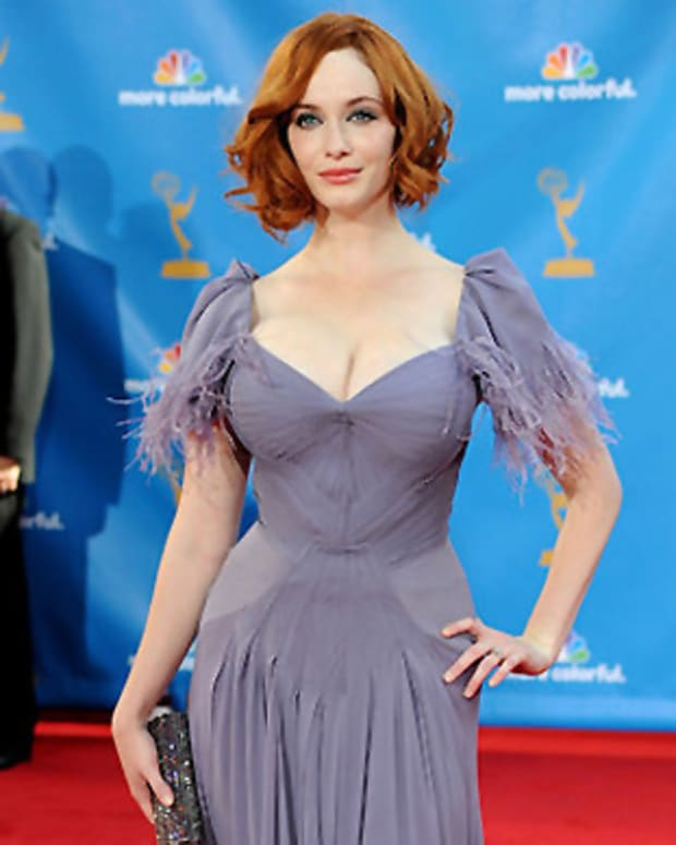 Christina Hendricks, 2010 Emmy Awards