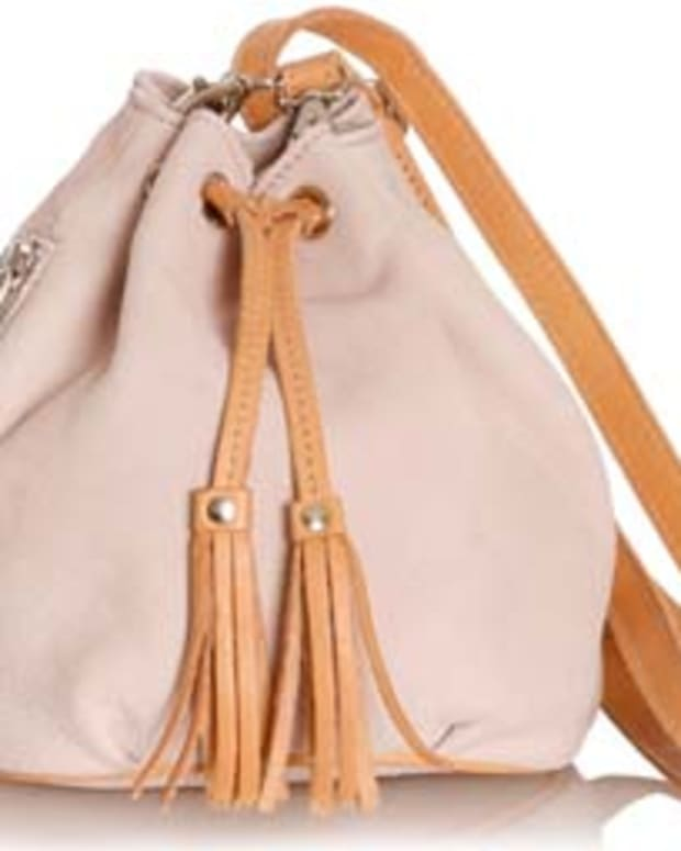 Roots Disco Pouch in Blush $128