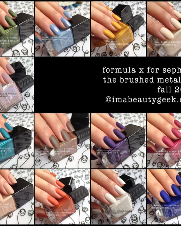 Formula X Brushed Metallics Composite Beautygeeks