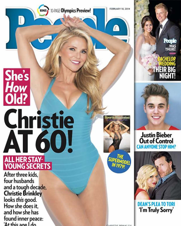 Christie Brinkley 60 People Magazine