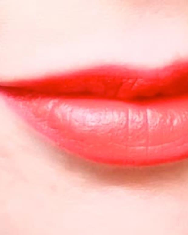 MAC Wonder Woman lipstick in Matte Russian Red