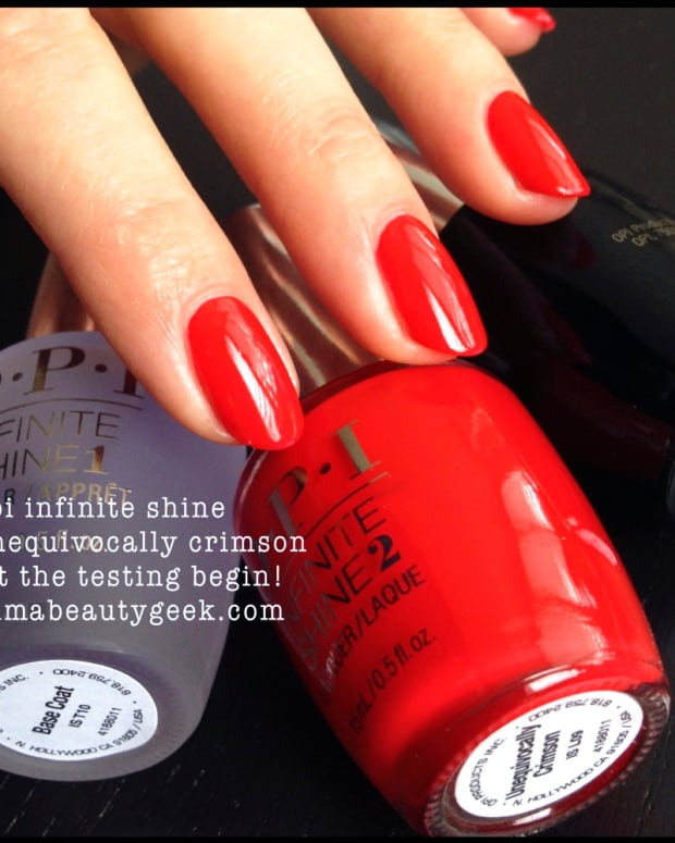 OPI Infinite Shine_OPI Unequivocally-Crimson Infinite-Shine 1