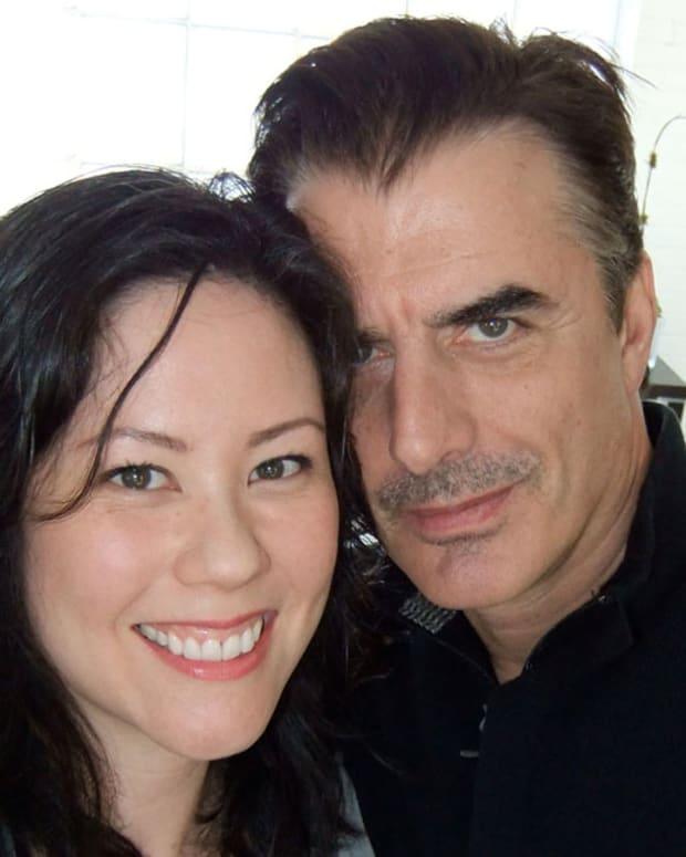 Janine_Falcon_with_Chris_Noth