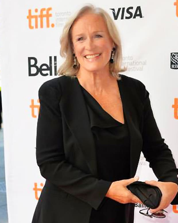 Glenn Close TIFF 2013_makeup by Eddie Malter_L'Oreal Paris